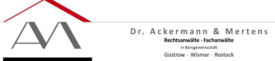 Rechtsanwälte Dr. Ackermann & Mertens